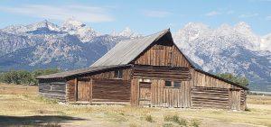 abandoned mormon homestead in grand teton national park